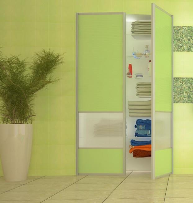 Szafa Wnękowa W łazience Szafa Wnękowa Z Drzwiami Uchylnymi