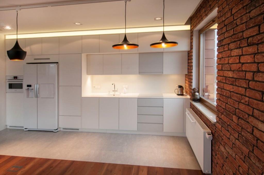 Oświetlone strefy kuchni