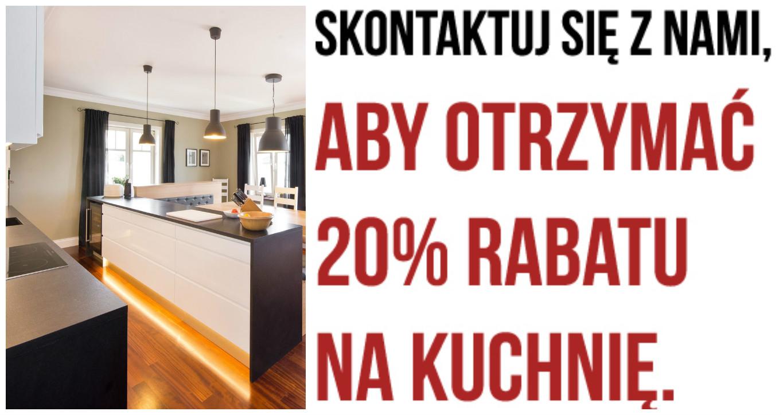 Twoja Wymarzona Kuchnia Aż 20 Taniej Fawre Gdańsk