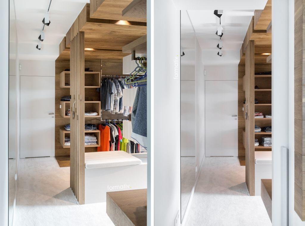 Garderoba nawymiar / Projekt: Formative