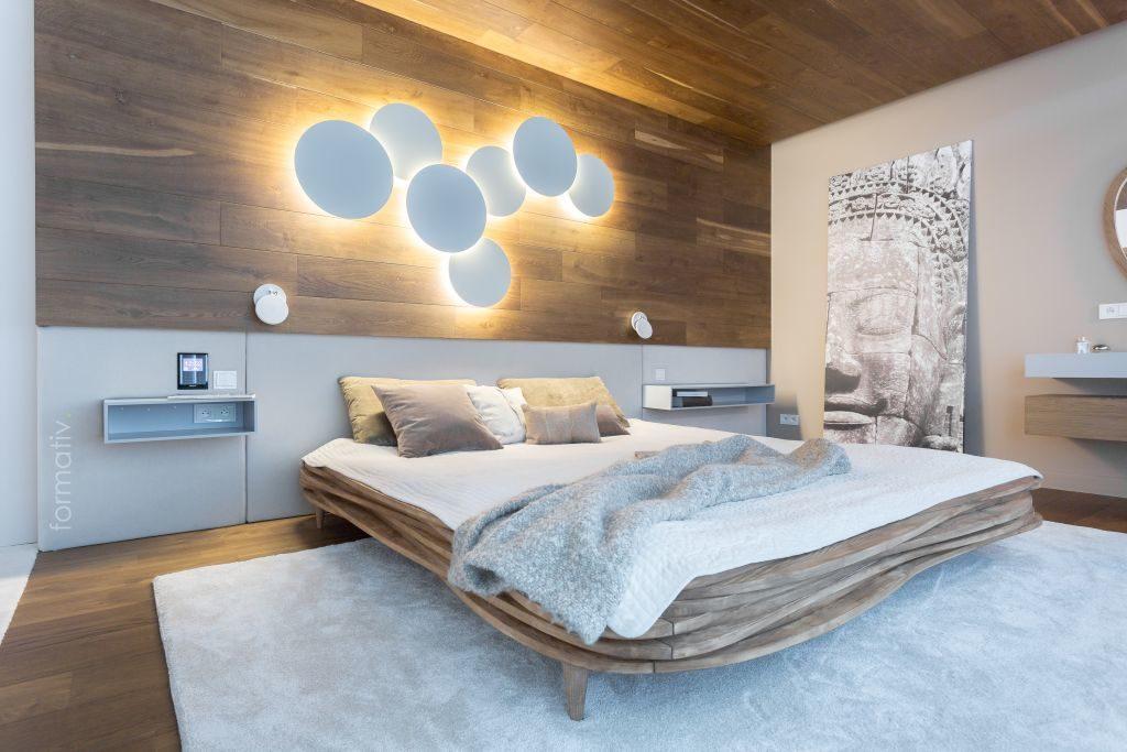 Zabudowa sypialni / Projekt: Formative